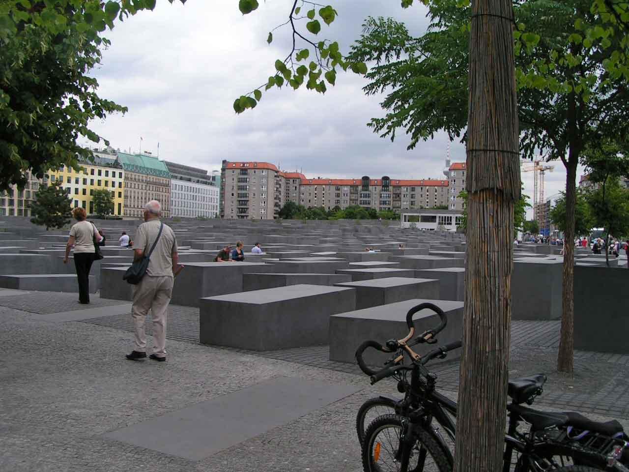 Denkmal für die ermordenten juden Europas