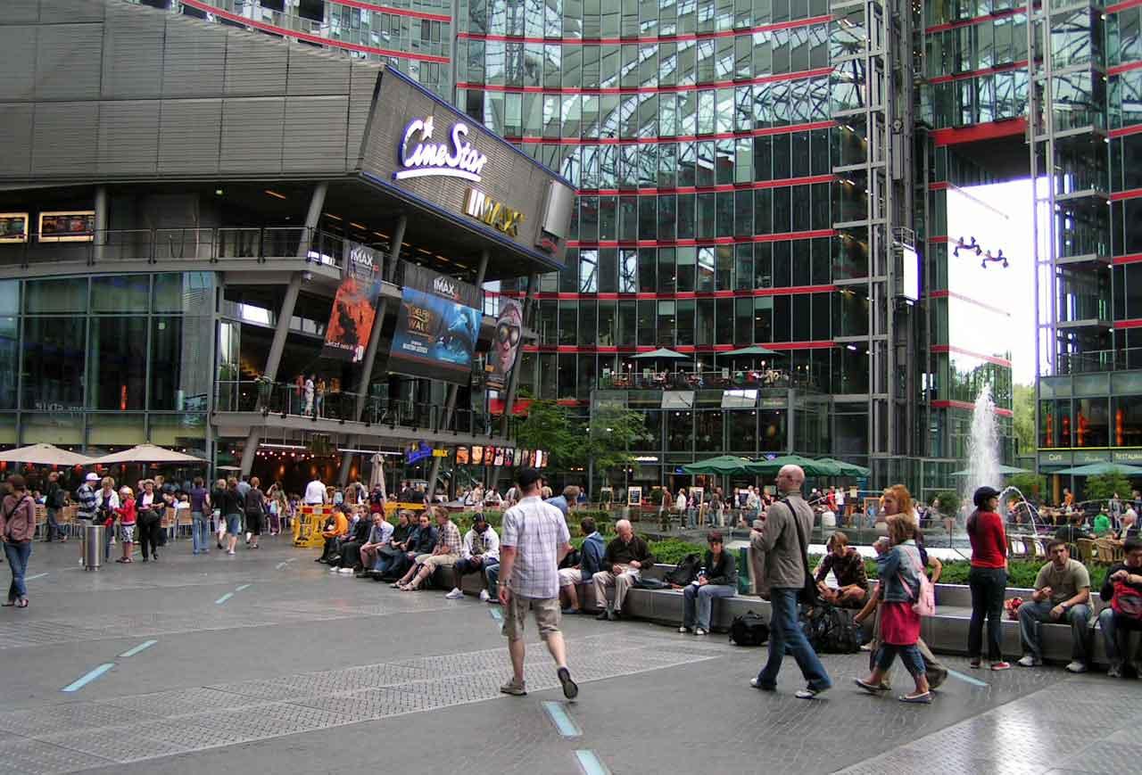 Sony Centeret ved Potsdammer Platz