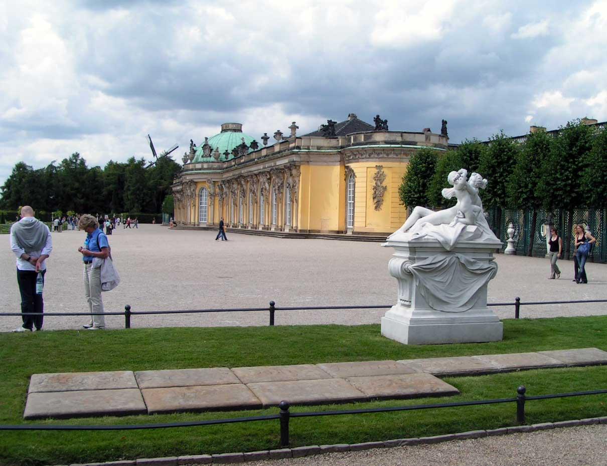 Sanssouci slottet
