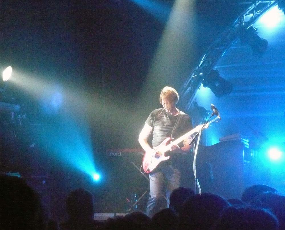 Leadguitaristen Søren Thulin i solo