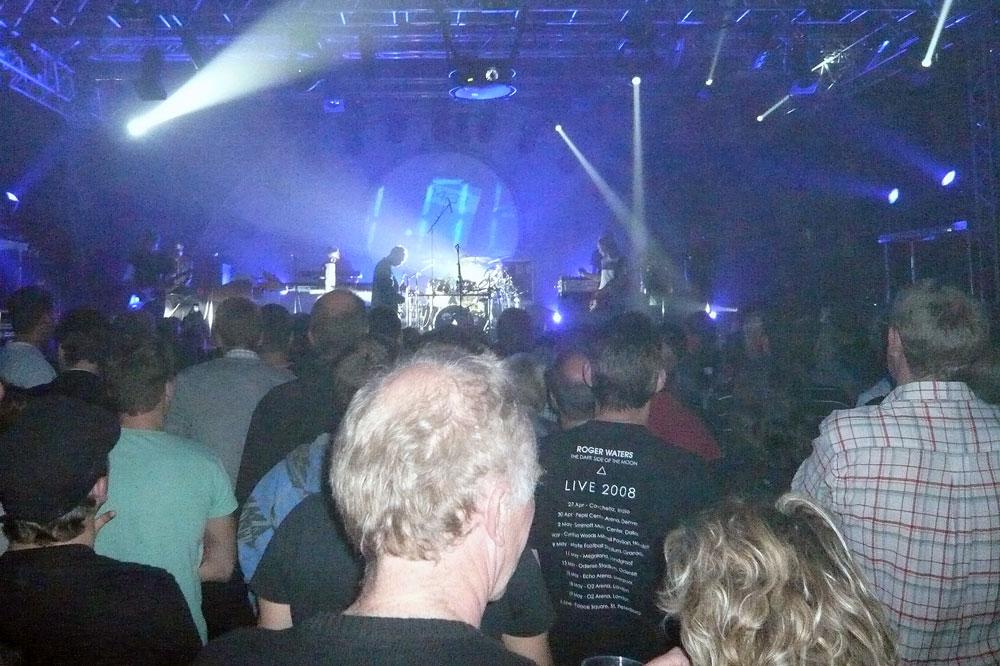 Pink Floyd fans er typisk lidt oppe i årene...